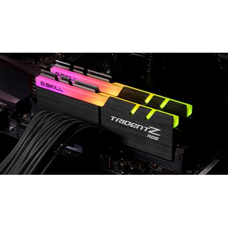 Memorie GSKill Trident Z RGB 64GB (2x32GB) DDR4 3600MHz CL16 Dual Channel Kit