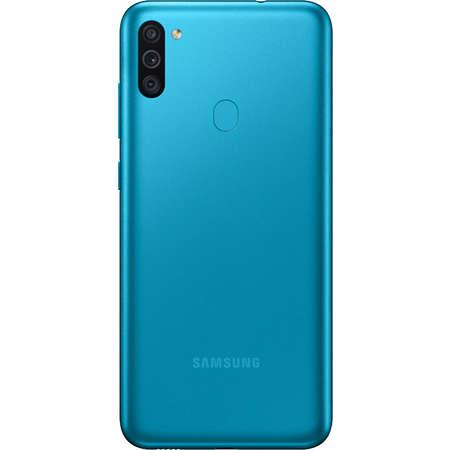 Telefon mobil Samsung Galaxy M11 Dual Sim  LTE  6.4 inch Octa Core 3GB 32GB Capacitate Baterie 5000mAh  Metallic Blue