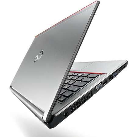 Laptop Fujitsu Lifebook E754 15.6 inch FHD Intel Core i7-4702MQ 8GB DDR3 500GB HDD HD Graphics Windows 8 Silver