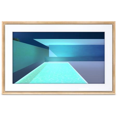 Rama foto NetGear Meural Canvas II 27 inch Light Wood