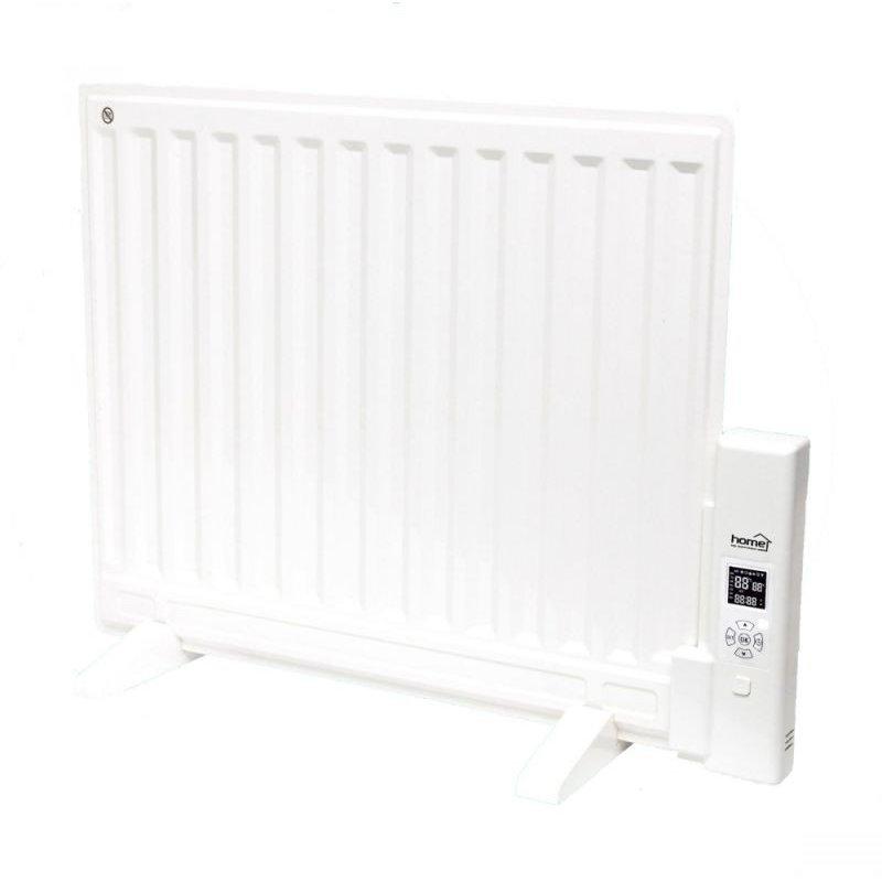 Radiator cu ulei FLOR600 600W Termostat Temporizator Senzor supraincalzire Alb
