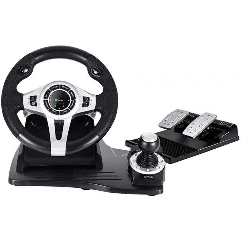 Volan Roadster USB Black Silver