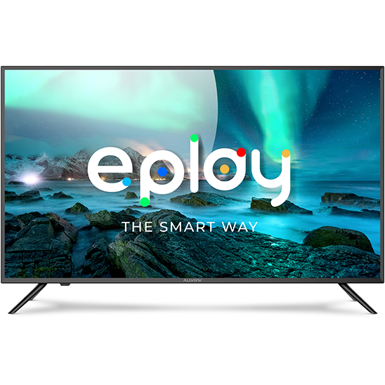 Televizor LED Smart 40ePlay6000-F/1 Full HD 101 cm 40 inch Wi-Fi  Bluetooth 4.0 Negru/Argintiu