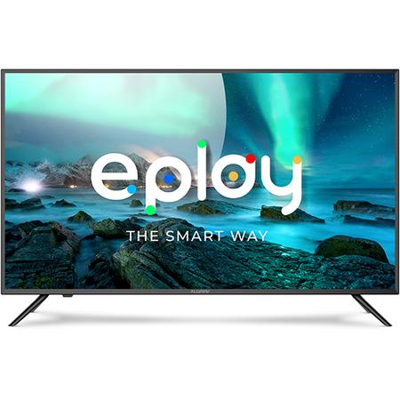 Televizor LED Smart Allview 40ePlay6000-F/1 Full HD 101 cm 40 inch Wi-Fi  Bluetooth 4.0 Negru/Argintiu