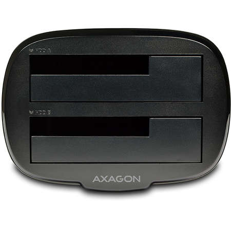 Docking Station AXAGON USB3.0  2x SATA 6G CLONE Dual HDD Negru