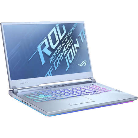 Laptop Asus ROG Strix G17 G712LW-EV080 17.3 inch FHD Intel Core i7-10875H 16GB DDR4 512GB SSD nVidia GeForce RTX 2070 8GB Glacier Blue