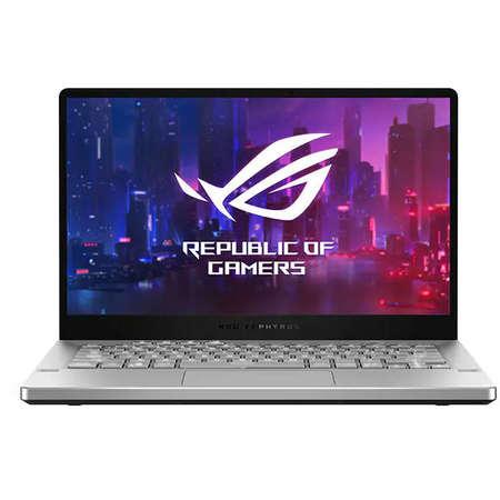 Laptop Asus ROG Zephyrus G14 GA401IV-HA120T 14 inch QHD AMD Ryzen 9 4900HS 16GB DDR4 1TB SSD nVidia GeForce RTX 2060 6GB Windows 10 Home White