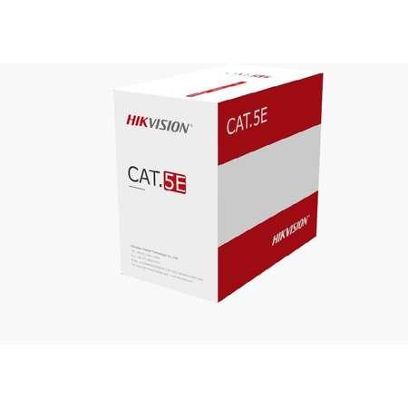 Cablu de retea Hikvision UTP Cat 5e 305m Grey