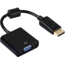 Adaptor Hama 53772 DisplayPort Male - VGA Female Negru