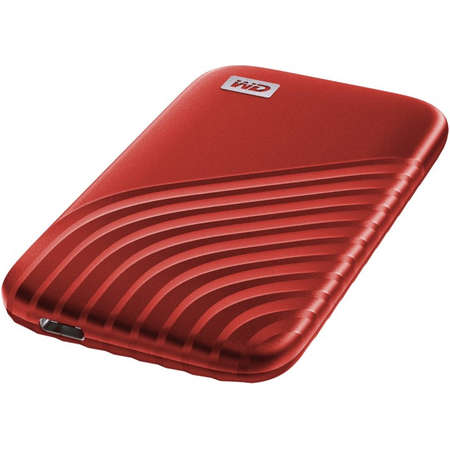 SSD Extern WD My Passport 500GB 2.5 inch USB 3.2 Red