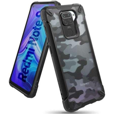 Carcasa Ringke Fusion X Xiaomi Redmi Note 9 Camo Black