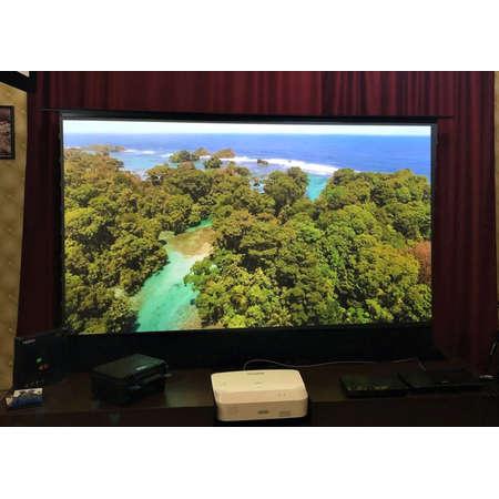 Ecran de proiectie Visual Experience ALR UST 221x124cm Dark Grey