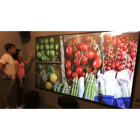 Ecran de proiectie Visual Experience ALR UST 200x112cm Dark Grey