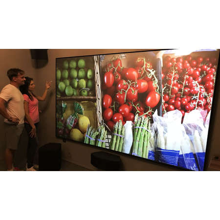 Ecran de proiectie Visual Experience ALR UST 243x137cm Dark Grey