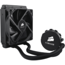 Cooler CPU Corsair Hydro H55 Debit aer 57 CFM 1700 RPM  30.32 dBA Negru