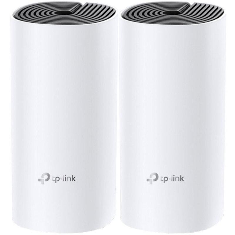 Sistem Wireless Mesh Deco P9 2x LAN White 2 Buc
