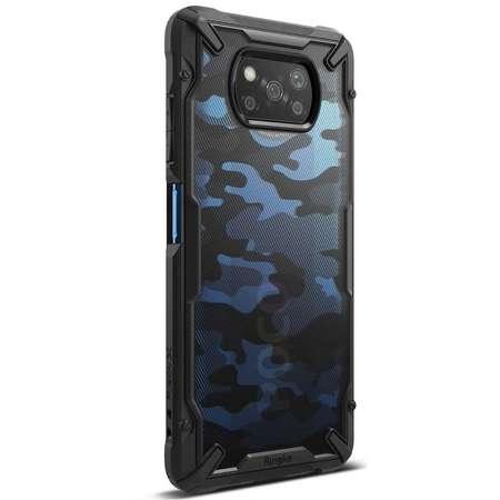 Carcasa Ringke Fusion X Xiaomi Poco X3 NFC Camo Black