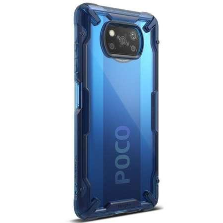 Carcasa Ringke Fusion X Xiaomi Poco X3 NFC Space Blue