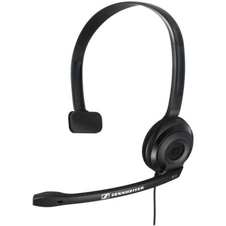 Casti Sennheiser Over-Head PC 2-CHAT Mono Black