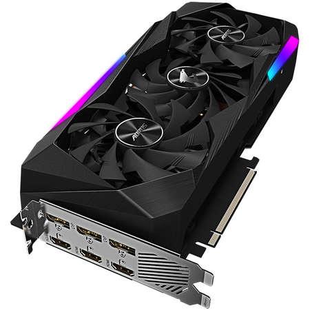Placa video Gigabyte AORUS nVidia GeForce RTX 3070 MASTER 8GB GDDR6 256bit