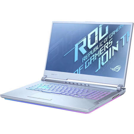 Laptop ASUS ROG Strix G17 G712LW-EV035 17.3 inch FHD Intel Core i7-10750H 16GB DDR4 512GB SSD nVidia GeForce RTX 2070 8GB Glacier Blue