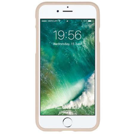 Husa Protectie Spate Generic Mercury JellySoft Apple iPhone 12 Pro Max Rosegold