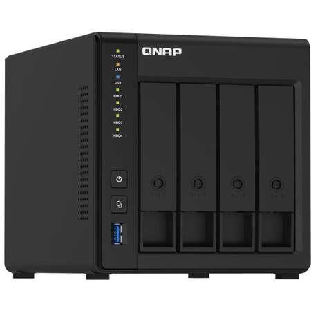 NAS Qnap TS-451D2 Intel Celeron J4025 4GB DDR4 Black