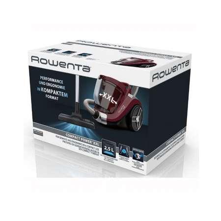 Aspirator fara sac Rowenta RO4873EA Compact Power XXL 550W 2.5 litri Visiniu