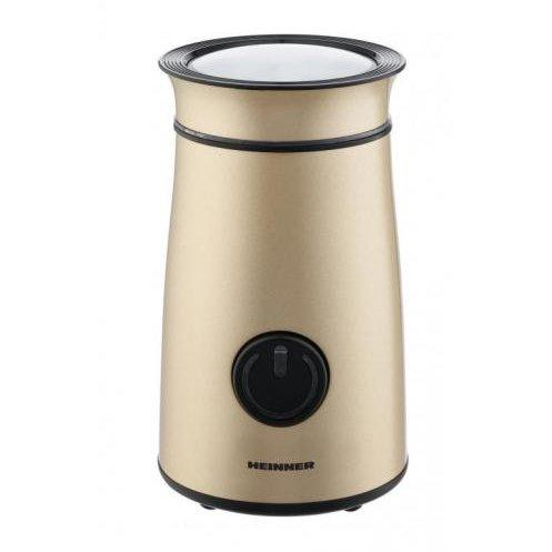 Rasnita cafea HCG-150IXGD LonGold 150W 50 grame Auriu