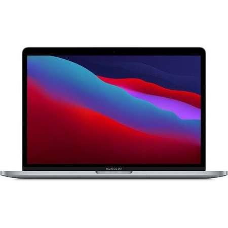 Laptop MacBook Pro 13 M1 2020 Touch Bar 13.3 inch WQXGA Apple M1 Octa Core 8GB DDR4 256GB SSD Space Grey RO Keyboard