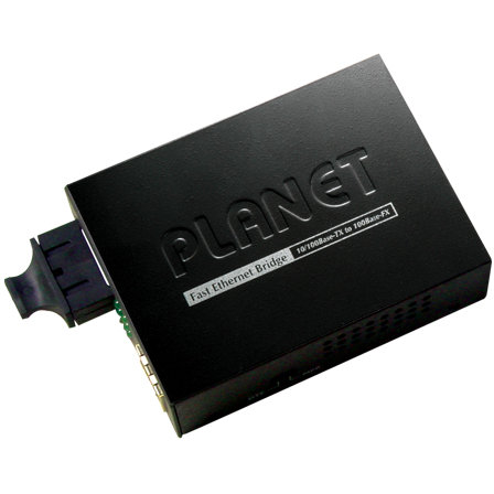 Media convertor FT-802S15 1310nm 15km Black