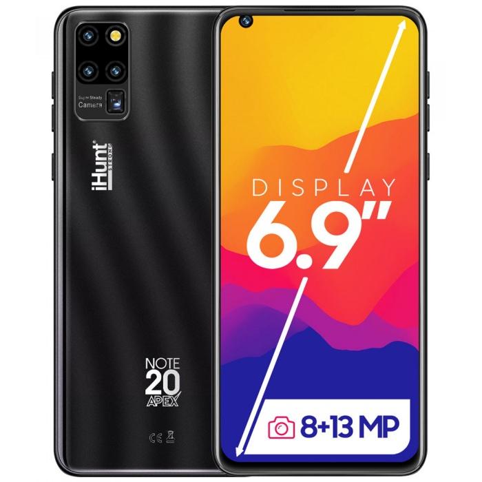 Telefon mobil Note20 ApeX 16GB 2GB RAM Dual Sim 3G Black