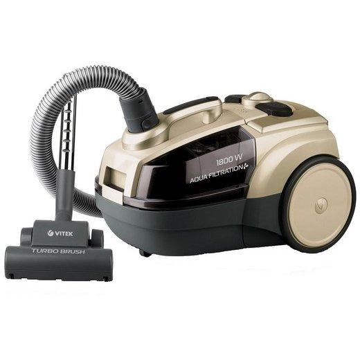 Aspirator cu filtrare prin apa VT-8100 1800W 400W 3.5 litri Crem