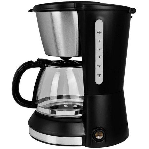 Cafetiera VT-1506 550W 0.7 litri Negru / Inox