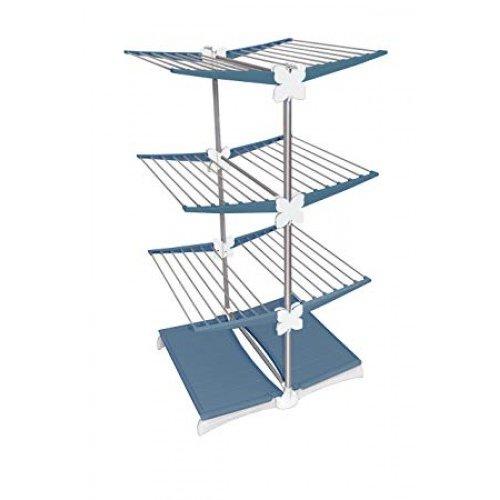 Uscator haine vertical 70191104102 Material Aluminiu 30 metri liniari Stendimeglio Junior Navy Blue