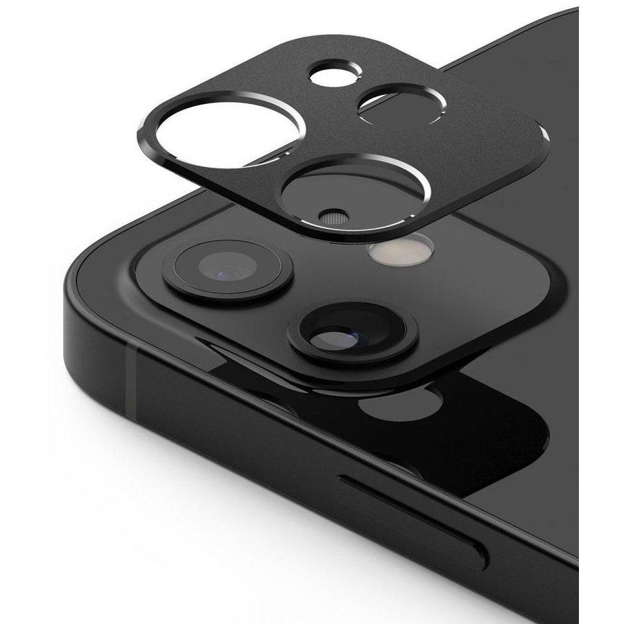 Rama protectie camera foto pentru iPhone 12 Mini Black