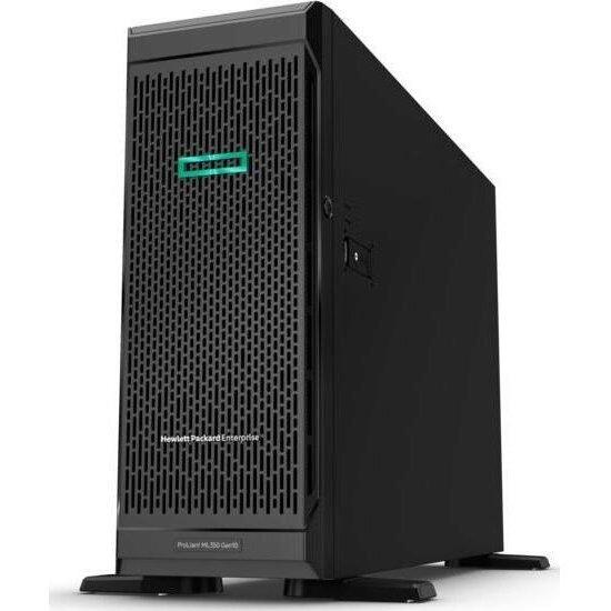 Server P22094-421 ProLiant ML350 Gen10 4208 1P 16GB-R P408i-a 8SFF 1x800W RPS Black