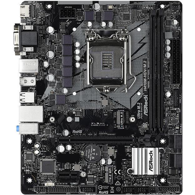Placa De Baza H410m-hdv M.2 Intel Lga1200 Matx