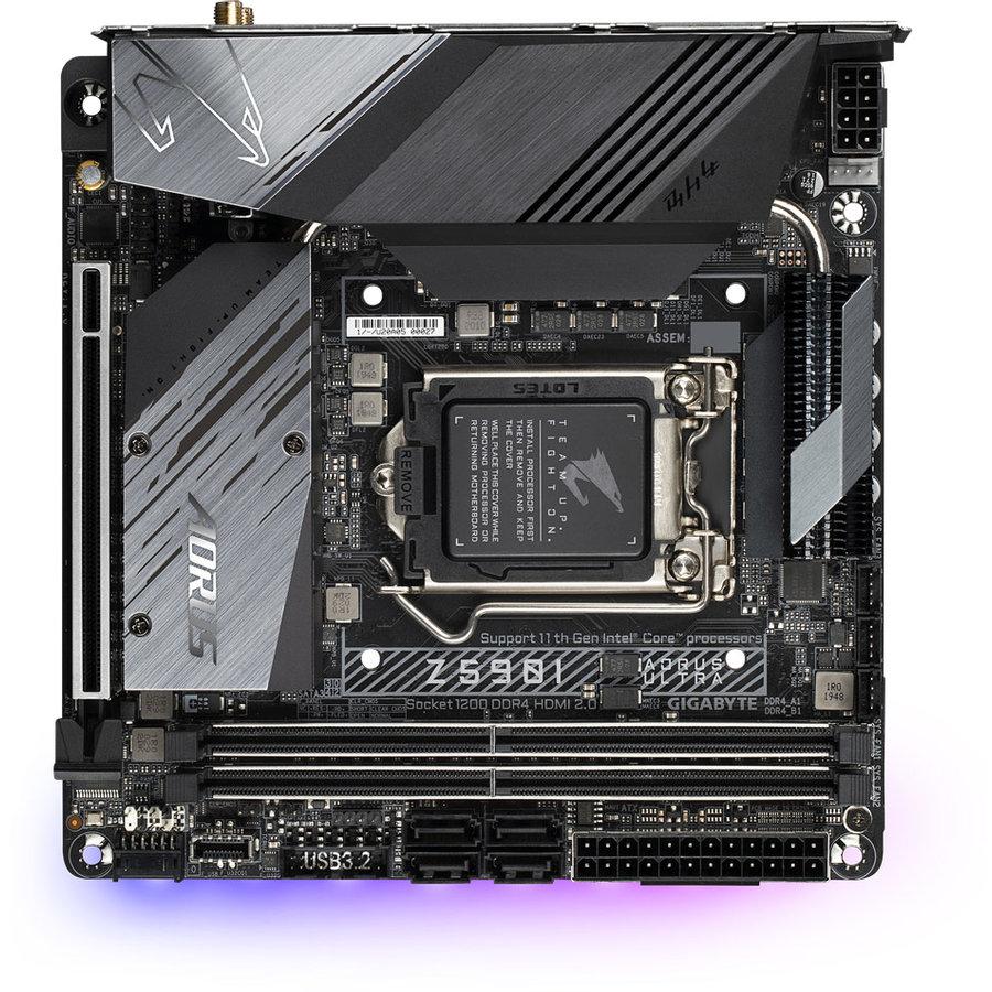 Placa de baza Z590I AORUS ULTRA Intel LGA 1200 mITX