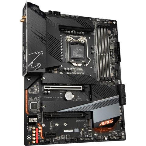 Placa de baza Z590 AORUS ELITE AX Intel LGA 1200 ATX