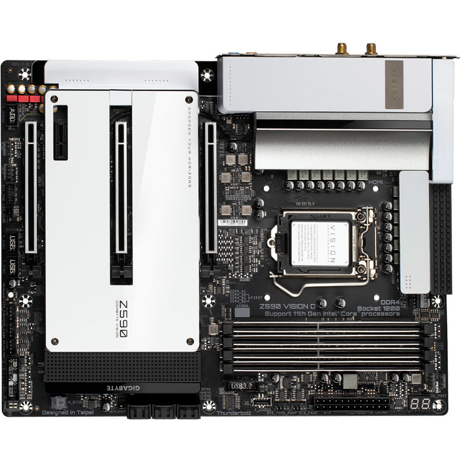 Placa de baza Z590 VISION D Intel LGA1200 ATX