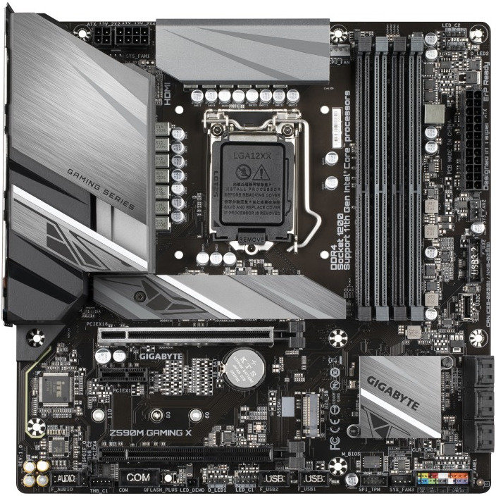 Placa de baza Z590M GAMING X Intel LGA 1200 ATX