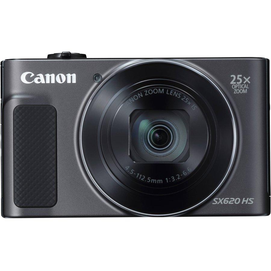 Kit Aparat foto + Card de memorie 16GB + Husa Powershot SX620HS 20.2MP Black