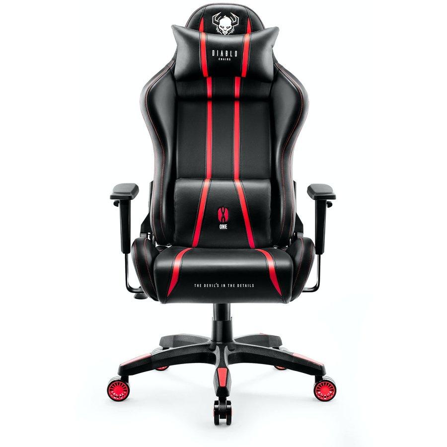 Scaun gaming X-One 2.0 King Size Black Red