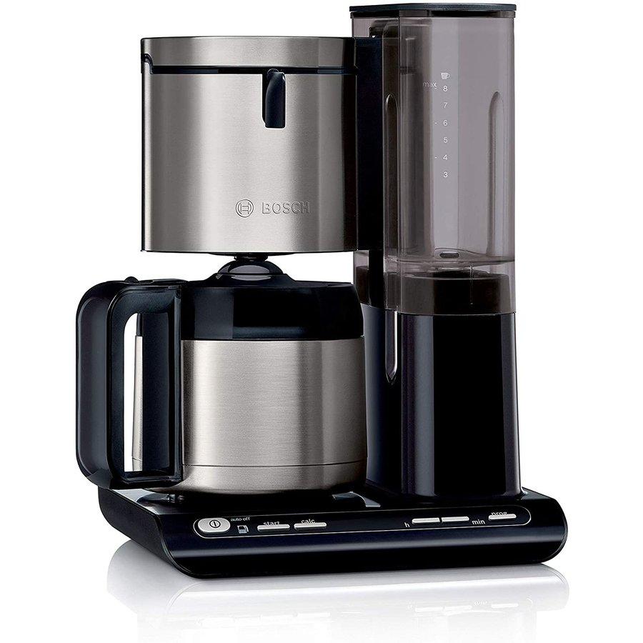 Cafetiera TKA8A683 1.1 Litri 1100W Negru Argintiu