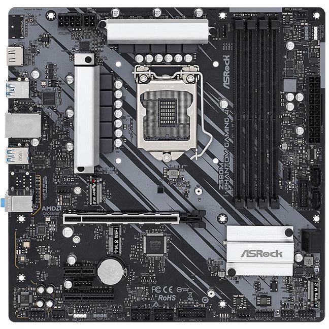 Placa de baza Z590M Phantom Gaming 4 Intel LGA 1200 mATX
