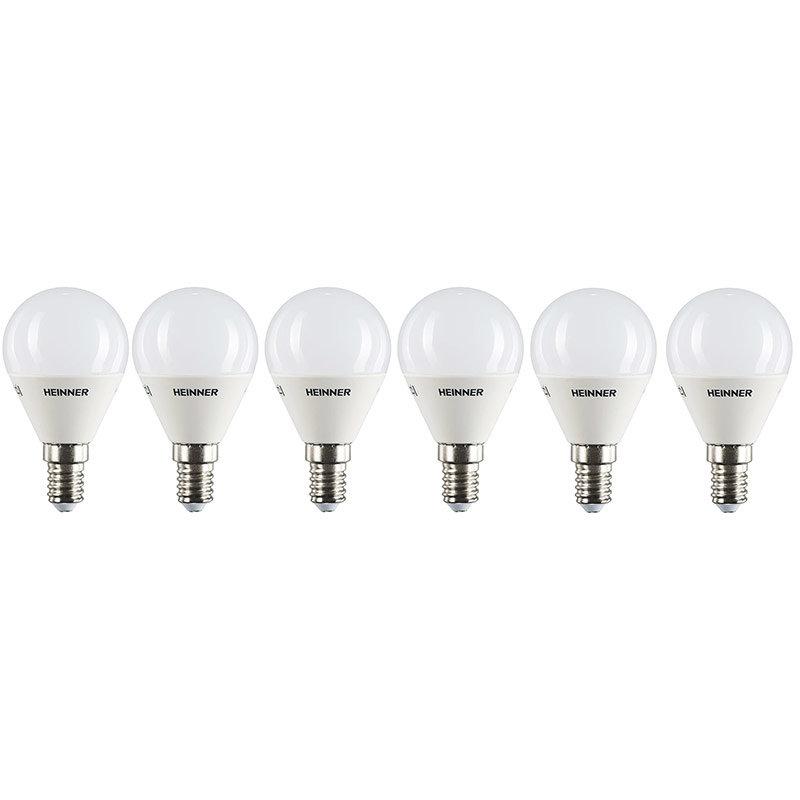 Set 6 becuri LED 6HLB-4WE143K E14 4W (30W) 3000k 300 lumeni