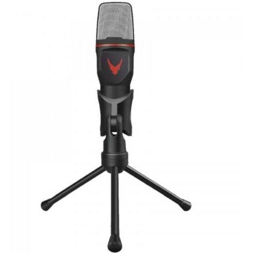 Microfon Varr Gaming Microphone Mini Tripod Inclus Negru