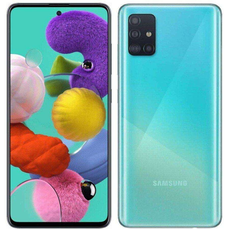 Telefon mobil Galaxy A51 256GB 8GB RAM 4G Dual Sim Crush Blue
