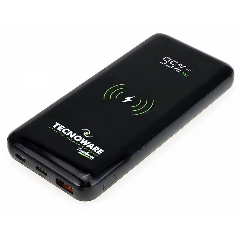 Power Bank FPB17608 Port USB Functie Incarcare Wireless Capacitate 10000mAh Negru